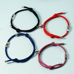 Forainer - Couple Matching Cord Bracelet