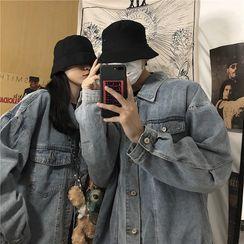 Filmas - Couple Matching Oversize Denim Jacket