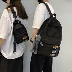 Rocktail(ロックテイル) - Graphic Patch Backpack / Sling Bag