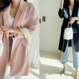 NANING9 - Vivid Spring Chesterfield Coat