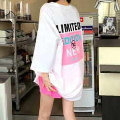 DEEPNY - 'LIMITED' Neon Oversized T-Shirt