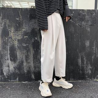 JUN.LEE - Wide-Leg Dress Pants