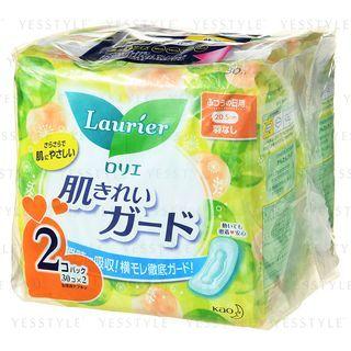 花王 - Laurier Speed Skin Cleaning Feminine Pads 20.5cm