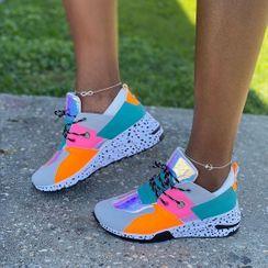 Avanti - Platform Lace-Up Sneakers