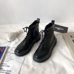 Stevvi - Lace-Up Short Boots