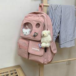 Mulgam - Bear PVC Paneled Backpack