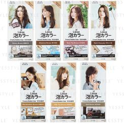 Kao - Coloración permanente para cabello Liese Creamy Bubble Hair Color Natural - 7 Colores