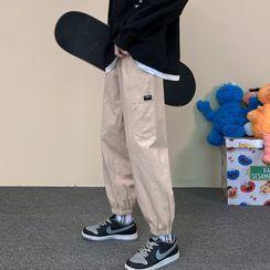 Andrei - 贴布绣慢跑裤运动裤