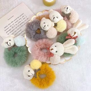 Fun House - 小熊 / 兔子毛絨髮圈