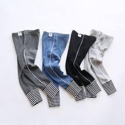 POKU - 小童条纹内搭裤