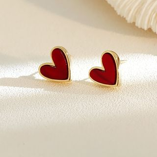 Infini - Alloy Heart Earring