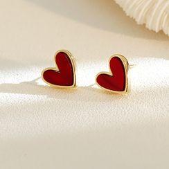 Infini - Alloy Heart Earring