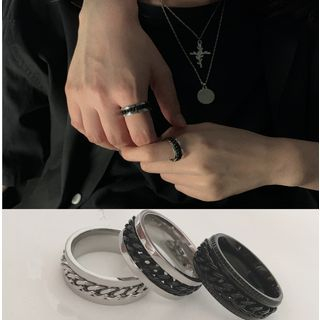 Banash - Matching Chain Ring for Couples