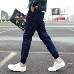 DuckleBeam - Cropped Tapered Jogger Pants