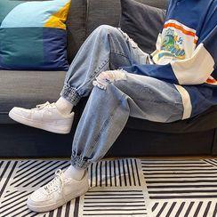 Dukakis - 做舊哈倫牛仔褲