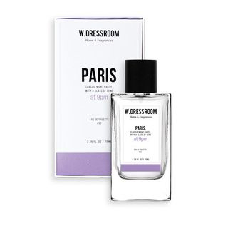 W.DRESSROOM(ダブリュー ドレスルーム) - Eau De Toilette Perfume Spray (#52 Paris) 70ml