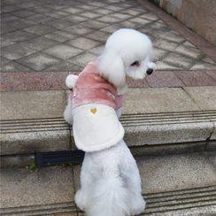 Puppy Love - 仿毛鹿角宠物上衣