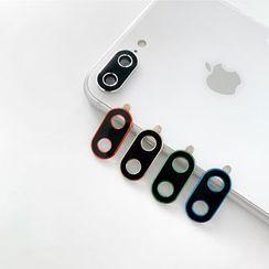 Handy Pie - 金属手机镜头保护贴 - iPhone XS Max / XS / XR / X / 8 / 8 Plus / 7 / 7 Plus / 6s / 6s Plus