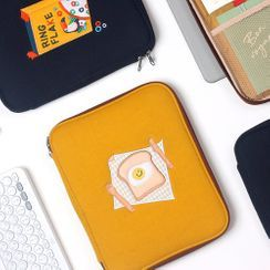 iswas(イズワズ) - Embroidered Tablet Pouch