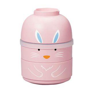 Hakoya - Hakoya Kokeshi Lunch Box (Rabbit / Pink)