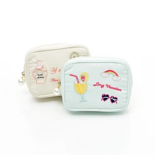 UNISON - Embroidered Makeup Pouch