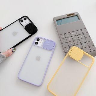 Primitivo - Translucent Phone Case with Lens Cover  - iPhone 11 Pro Max / 11 Pro / 11 / XS Max / XS / XR / X / 8 / 8 Plus / 7 / 7 Plus / 6s / 6s Plus