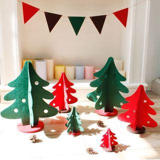 KIITOS - Non Woven Fabric Christmas Tree