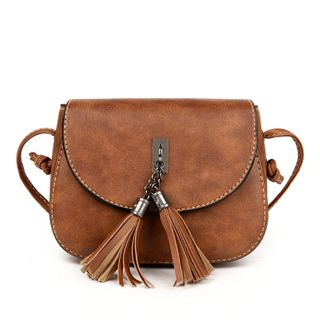 Shimme - Faux Leather Crossbody Bag
