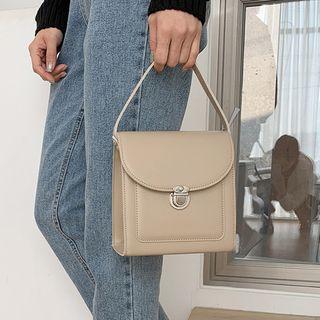 MERONGSHOP - Push-Lock Square Handbag