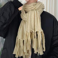 BANGBOY - Couple Matching Rib-Knit Scarf