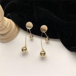 Madikara - Alloy Bead Dangle Earring