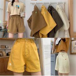 PUYE - Flower Printed Shorts