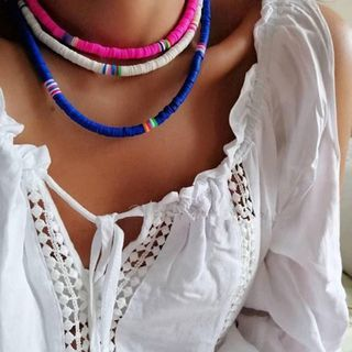 Terreau Kathy - Striped Necklace