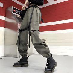 Sukol  - Set: Tie Dye Cardigan + Tube Top
