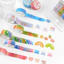 OH.LEELY - Cartoon Masking Tape (various designs)