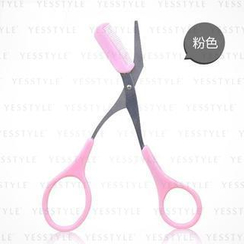Litfly - Eyebrow Scissors (Pink)