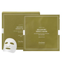 I'm from - Mugwort Sheet Mask Set