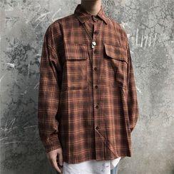 Banash - Plaid Long-Sleeve Shirt