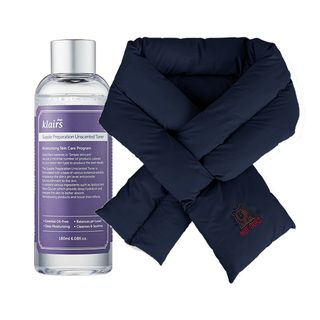 Dear, Klairs - Stay Warm Scarf Set (Navy) [Dear, Klairs x Not Ours Edition]