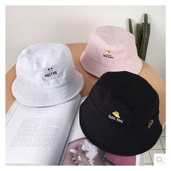 FROME - Embroidered Bucket Hat