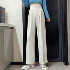 Luminato - Cropped Wide Leg Pants