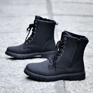 BELLOCK - Lace Up Ankle Boots