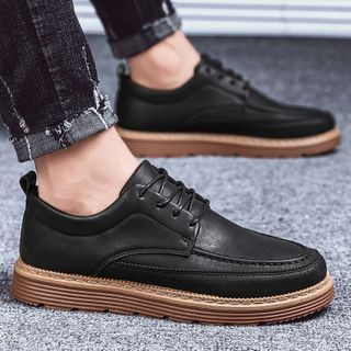 Chaoqi - Lace Up Casual Shoes