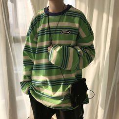 Kimeya - 长袖条纹T裇