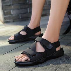 Lion Tips - Ankle-Strap Flat Sandals