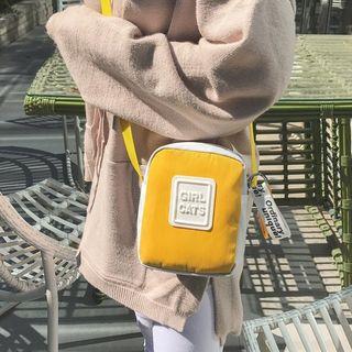 Bagolo - Applique Canvas Crossbody Bag