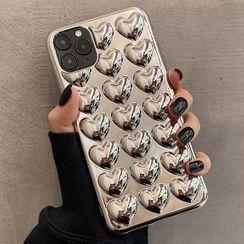 Merito - Heart Phone Case -  iPhone 12 Pro Max / 12 Pro / 12 / 12 Mini / 11 Pro Max / 11 Pro / 11 / Xs Max / Xr / Xs / X / 8 Plus / 8 / 7 Plus / 7 / 6s Plus / 6s / 6 Plus / 6