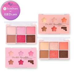 CHICA Y CHICO - One Shot Eye Palette (Spring Palette) (2 Types)