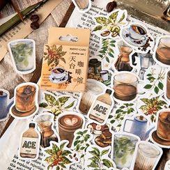 Milena - 咖啡貼紙 (多款設計)
