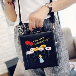 Clair Fashion - Faux-Leather  Shoulder Bag